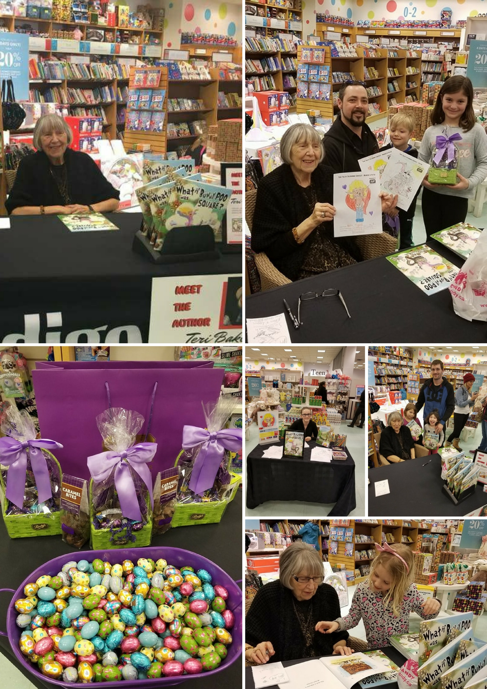 Author Meet and Greet highlights and winners